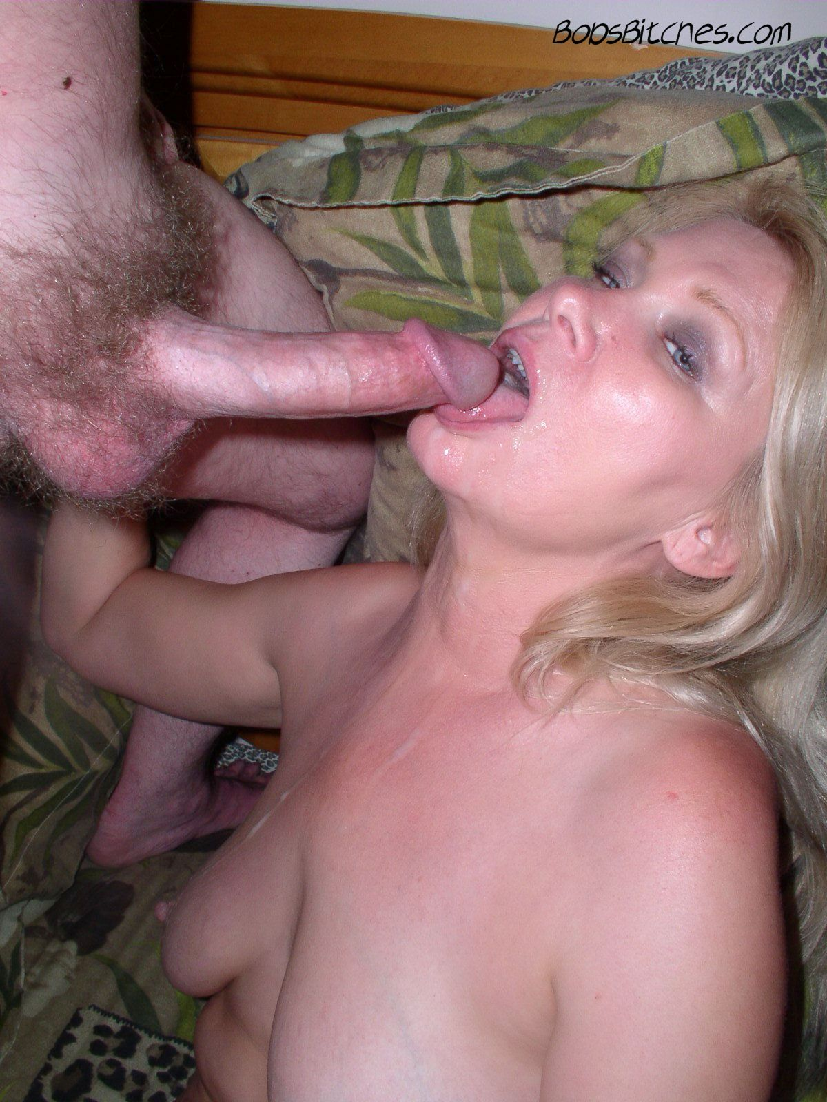Lizz, the blonde white bitch that craves cum.